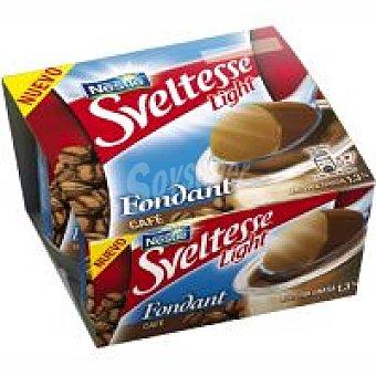 Sveltesse Nestlé Yogur fondant-café 0% Pack 4x125 g