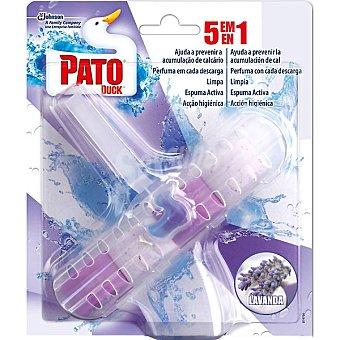 Pato Desinfectante WC 5 en 1 fragancia Lavanda aparato + recambio
