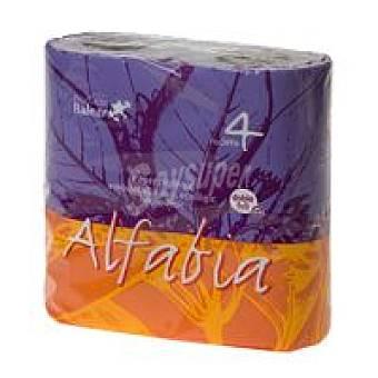 Alfabia Papel higiénico Paquete 4 rollos