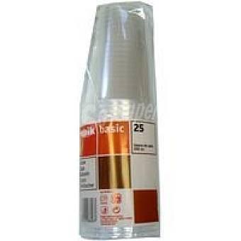Nupik Vaso transparente 330 cc Pack 25 unid