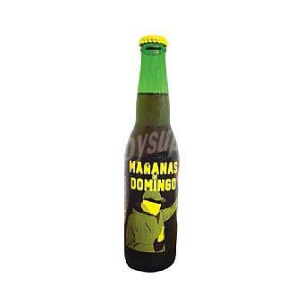 Domingo Cerveza artesana Mañanas Botella 33 cl