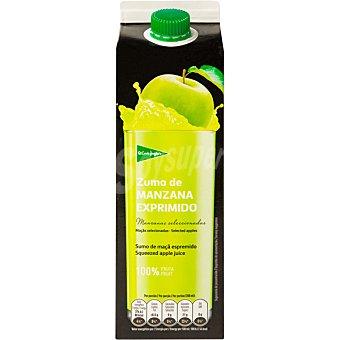 El Corte Inglés zumo de manzana exprimido envase 1 l
