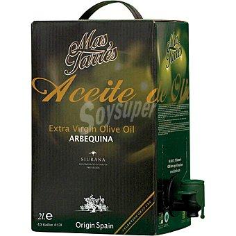 Mas tarres Aceite de oliva virgen extra Arbequina Envase 2 l