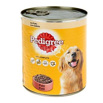 Pedigree Para perro paté con pollo Lata 800 g