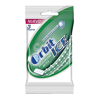 Orbit Chicle hierbabuena ártica Ice 3 ud