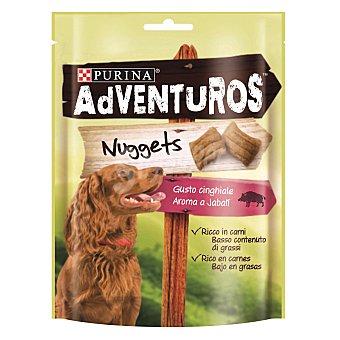 Purina Snack para perros adventuros rico en carnes aroma a jabalí sticks 90 gr