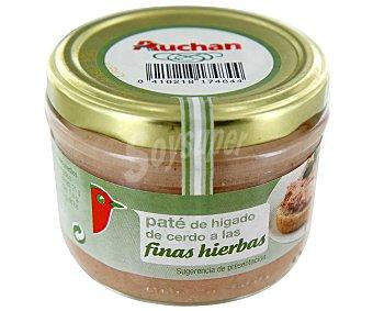 Auchan Paté a las finas hierbas Tarro de 125 gramos