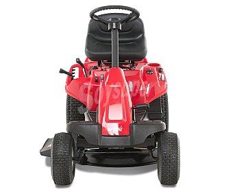 MTD Tactor cortacesped con motor de gasolina de 420 centímetros cúbicos y potencia de 8.2 CV, con radio de giro de 46 centímetros, arranque eléctrico, chasis de acero y medidas de 157x98x112 centímetros 1 unidad