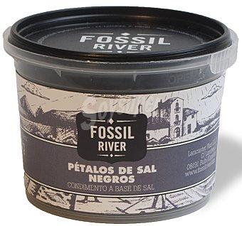 Fossil River Pétalos de sal negra Tarrina 60 g