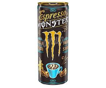 Monster Energy Bebida de café espresso con leche, taurina y sabor a vainilla Lata 25 cl