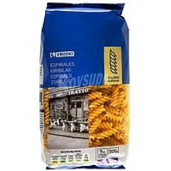 Eroski Pasta de espirales Paquete 500 g