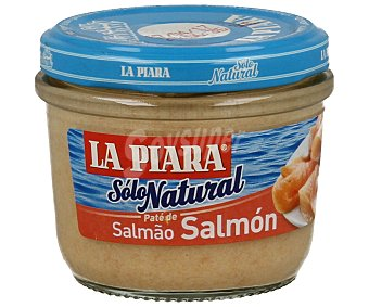 La Piara Paté de salmón sólo natural Tarro 100 g