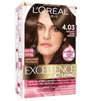 Excellence L'Oréal Paris Tinte creme nº 4.03 Castaño 1 ud