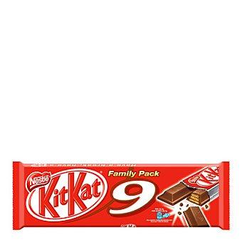 Kit Kat Nestlé Barrita de galleta crujiente cubierta de chocolate con leche 186 g