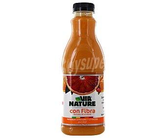 VIANATURE zumo de naranja sanguina y cítricos con goji Naranja envase 900 ml