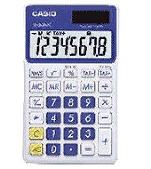Casio Calculadora sl 300 azul casio Casio