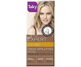 Taky Crema depilatoria facial Expert con oro 20 ml