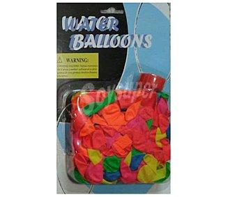 EURASPA Paquete de globos de diferentes colores, ideales para llenarlos de agua 1 unidad