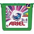 Detergente color en cápsulas 3n1 Caja 24 dosis Ariel