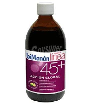 Bimanan Jarabe 45+Acción Global elimina grasas de Limón 300 ml