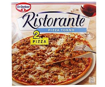 Dr. Oetker Pizzas de atún ultracongeladas Ristorante 2 pizzas de 355 gramos