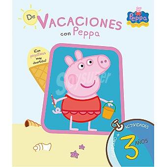 PEPPA PIG Cuaderno de vacaciones con 3 años