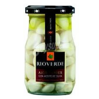 Rioverde Ajos suaves en aceite de oliva Tarro 120 g