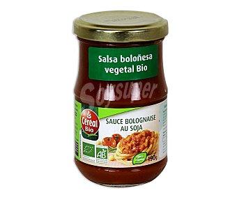 CEREAL BIO Salsa boloñesa vegetal Eco 190 Gramos