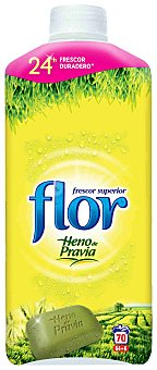 Flor Suavizante concentrado con aroma a Heno de Pravia 64 dosis