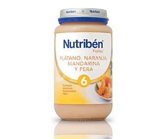 NUTRIBEN Potito de plátano-naranja-mandarina-pera Tarrito 250