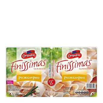 Campofrío Finissimas Pechuga de pavo 'finissimas' Pack de 2x65 g