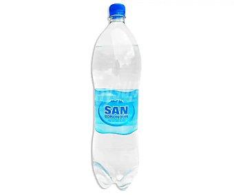 SAN BORONDÓN Agua mineral con gas Botella de 1,5 litros
