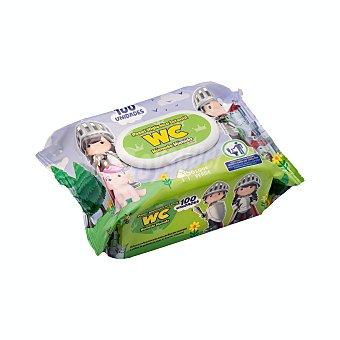 Bosque Verde Papel higienico humedo infantil (desechable por el wc) Paquete 100 u