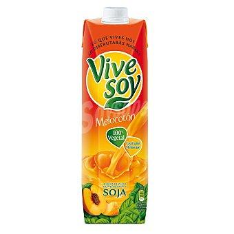 Vivesoy Zumo de melocotón con soja Prisma 1 litro
