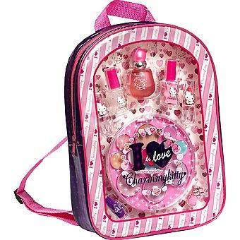 CHARMMY KITTY mochila con eau de toilette infantil + cosmética & accesorios spray 18 ml