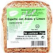pan de espelta con avena y linaza envase 320 g Envase 320 g Naturpan