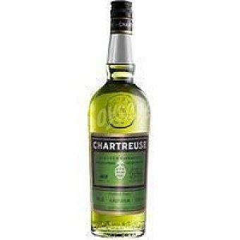 Chartreuse Licor verde Botella 1 litro