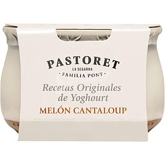 El Pastoret Yogur con melon de Cantaloup Envase 150 g