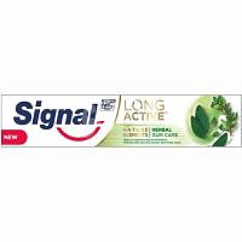 Signal Long Active pasta de dientes Herbal Gum Care Tubo 75 ml