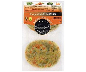 Suquipà Hamburguesa 100% vegetal, sin gluten y elaborada con verduras suquipa 2 x 90 g