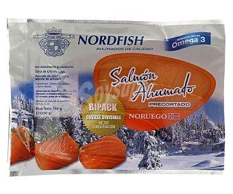 Nordfish Salmón noruego ahumado,, pack de  2x350g