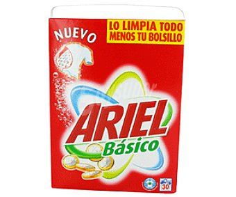 Ariel Detergente en Polvo 30d