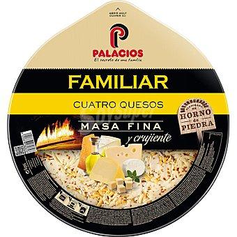 Palacios La Massima fina cuatro quesos con un sobre con aceite de oliva de cebolla envase 580 g Envase 580 g