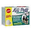 Aparato + 2 recambios mosquitos 1 unidad Kill-Paff
