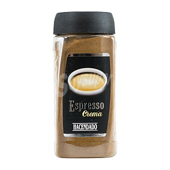 Hacendado Cafe soluble espresso crema PET 80 g