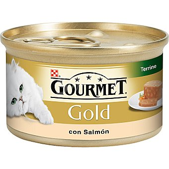 GOURMET GOLD Para gato mousse de salmón selecto lata 85 g Lata 85 g