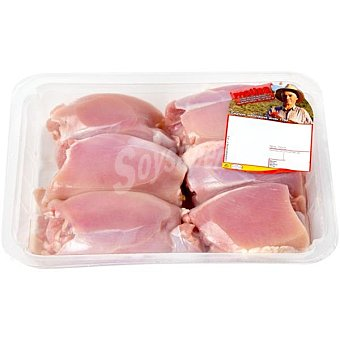 Matisa Escalopes de pollo (contras sin piel) peso aproximado Bandeja 500 g