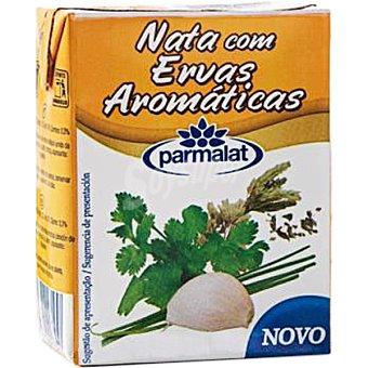 PARMALAT Nata líquida hierbas aromáticas  Brik 200 ml