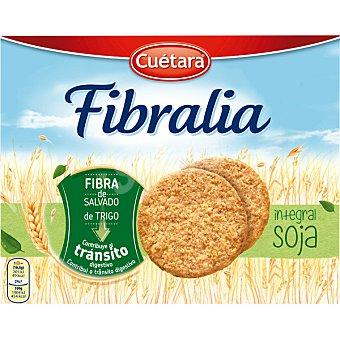Cuetara fibra linea galletas de fibra integral con soja caja 550 g