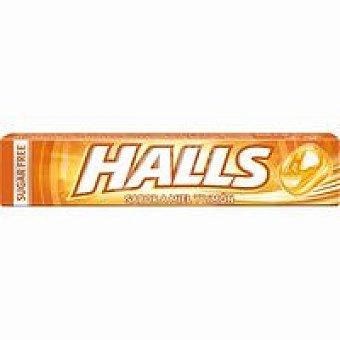 Halls Caramelos con miel-limón Paquete 32 g